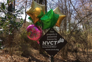 Another year of Saving Nearby Nature! NVCT was incorporated March 15, 1994.