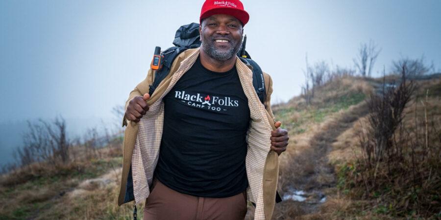 Earl Hunter, Jr, Black Folks Camp Too, Keynote Speaker, May 11
