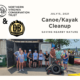 NVCT teams up with Devils Backbone Brewing Company for a canoe/kayak cleanup of Dyke Marsh